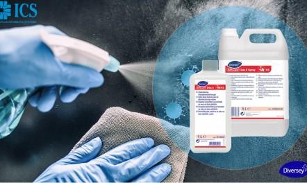 Αντισηπτικά υγρά για τα χέρια Diversey στην καλύτερη τιμή της αγοράς από την ICS Καραφύλλης Α.Ε.