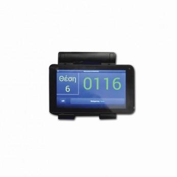 Wicket terminal -Que Control System iQueue