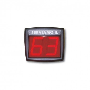 MD2 Customer Monitor with 2 digits for priority control system