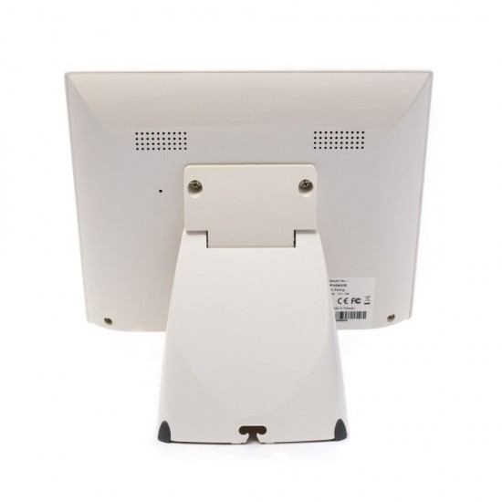 "ICS PHISTEK 10.1"" LCD Οθόνη Πελάτη White"