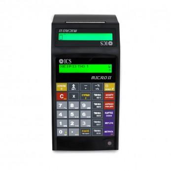 ICS MICRO II Cash Register black