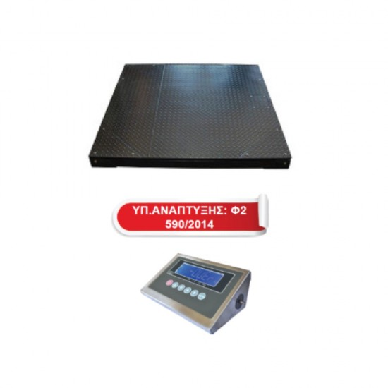 FD Floor Scale with indicator selection